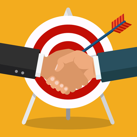 77765750 - handshake, business partnership. symbol of success deal, happy business partnership, agreement.